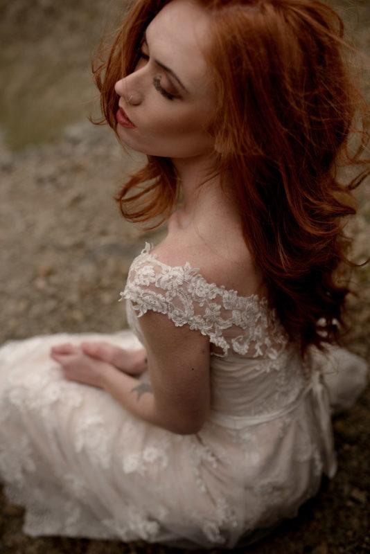 styled bridal shoot photographer