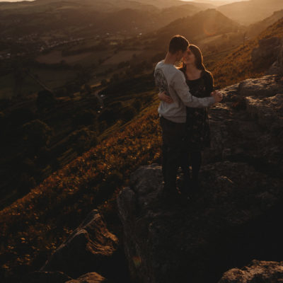 Llangollen Sunset Pre-Wedding Shoot