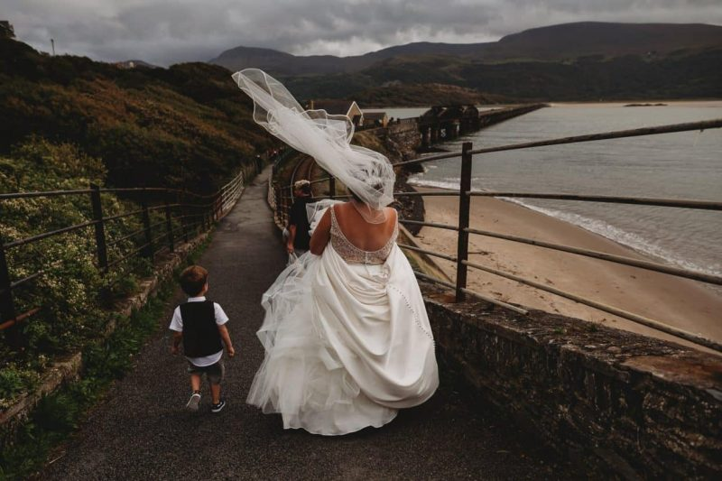 Best North Wales Wedding Photographer at Bae Abermaw Barmouth