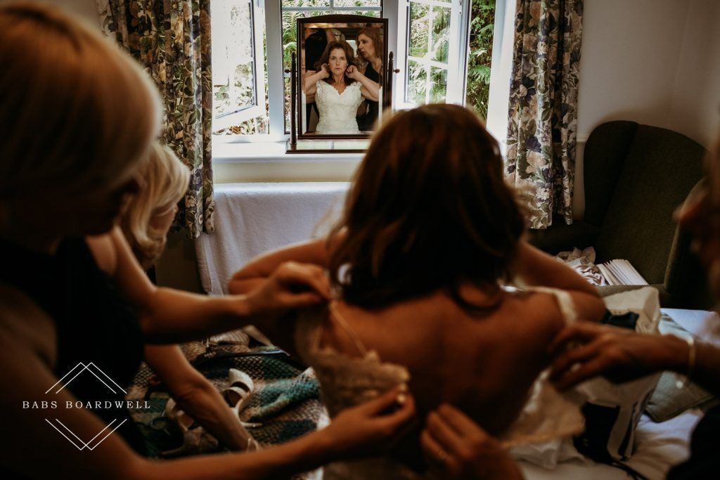 Making the most of bridal prep in Snowdonia