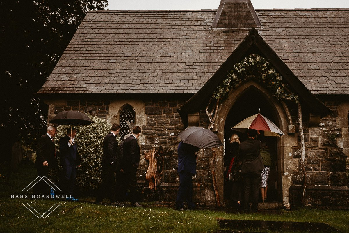 A beautiful wedding at The Gwenfrewi Project