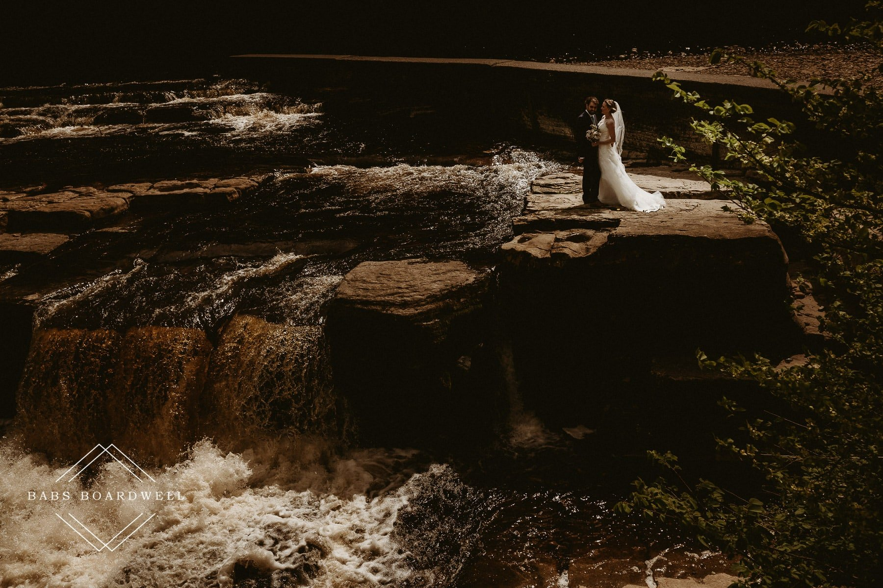 Andy & Jen's beautiful wedding day at Low Gingerfield Farm in Yorkshire