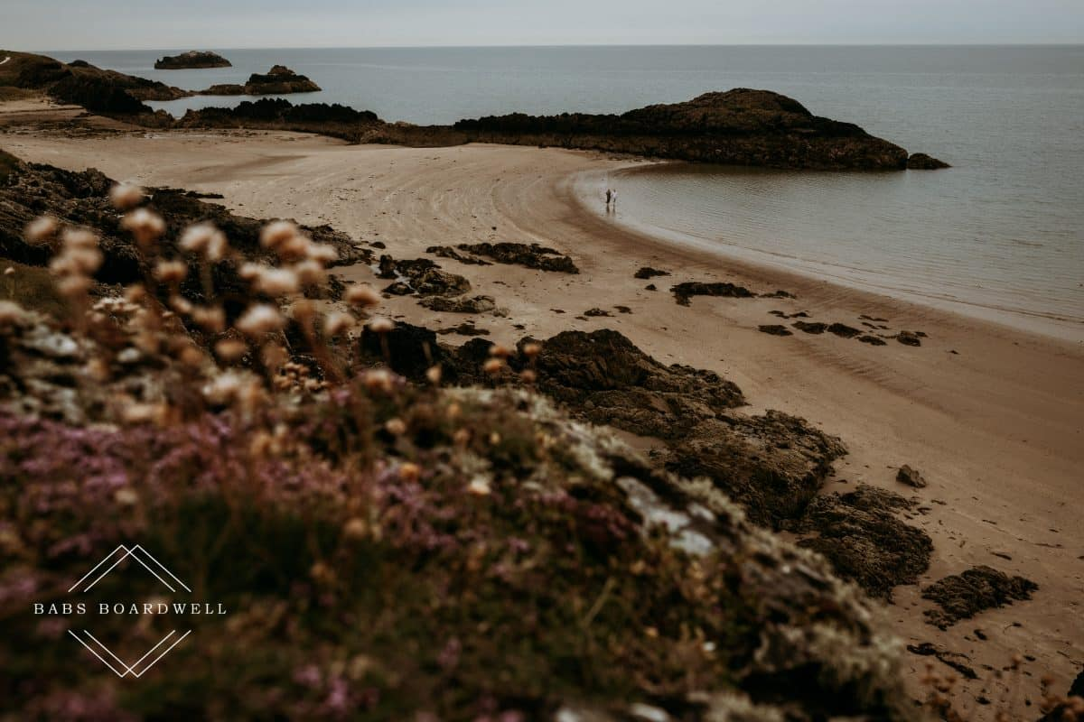Newborough Beach pre-wedding adventure