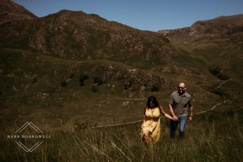 Llyn Gwynant pre-wedding mini adventure