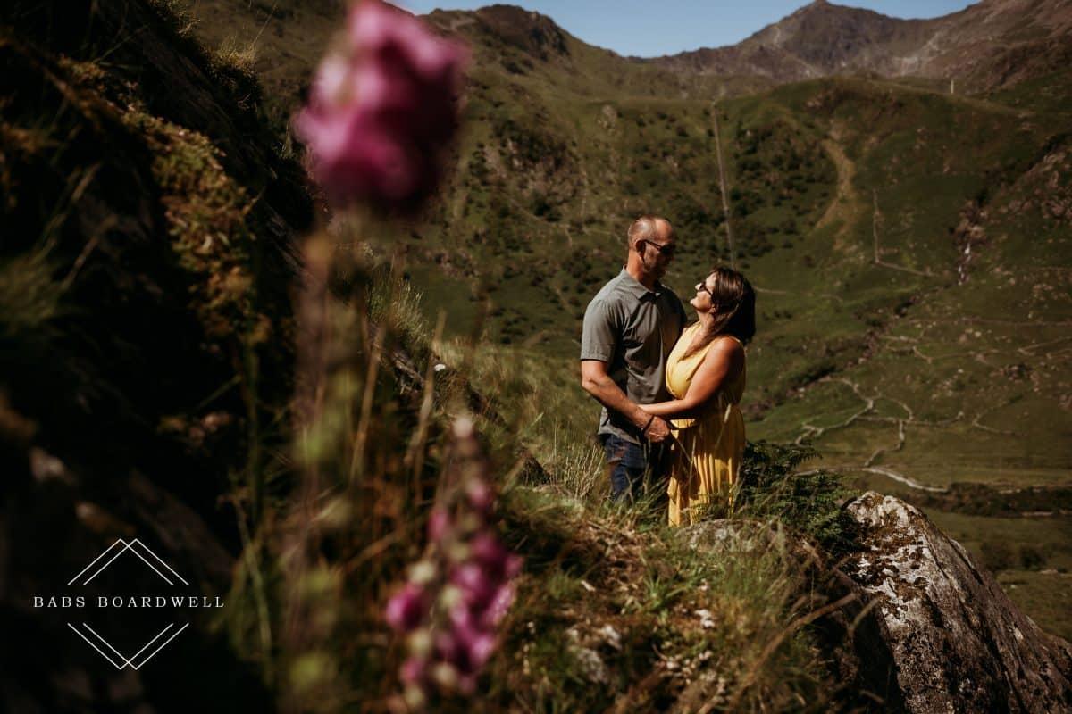 Llyn Gwynant pre-wedding mini adventure