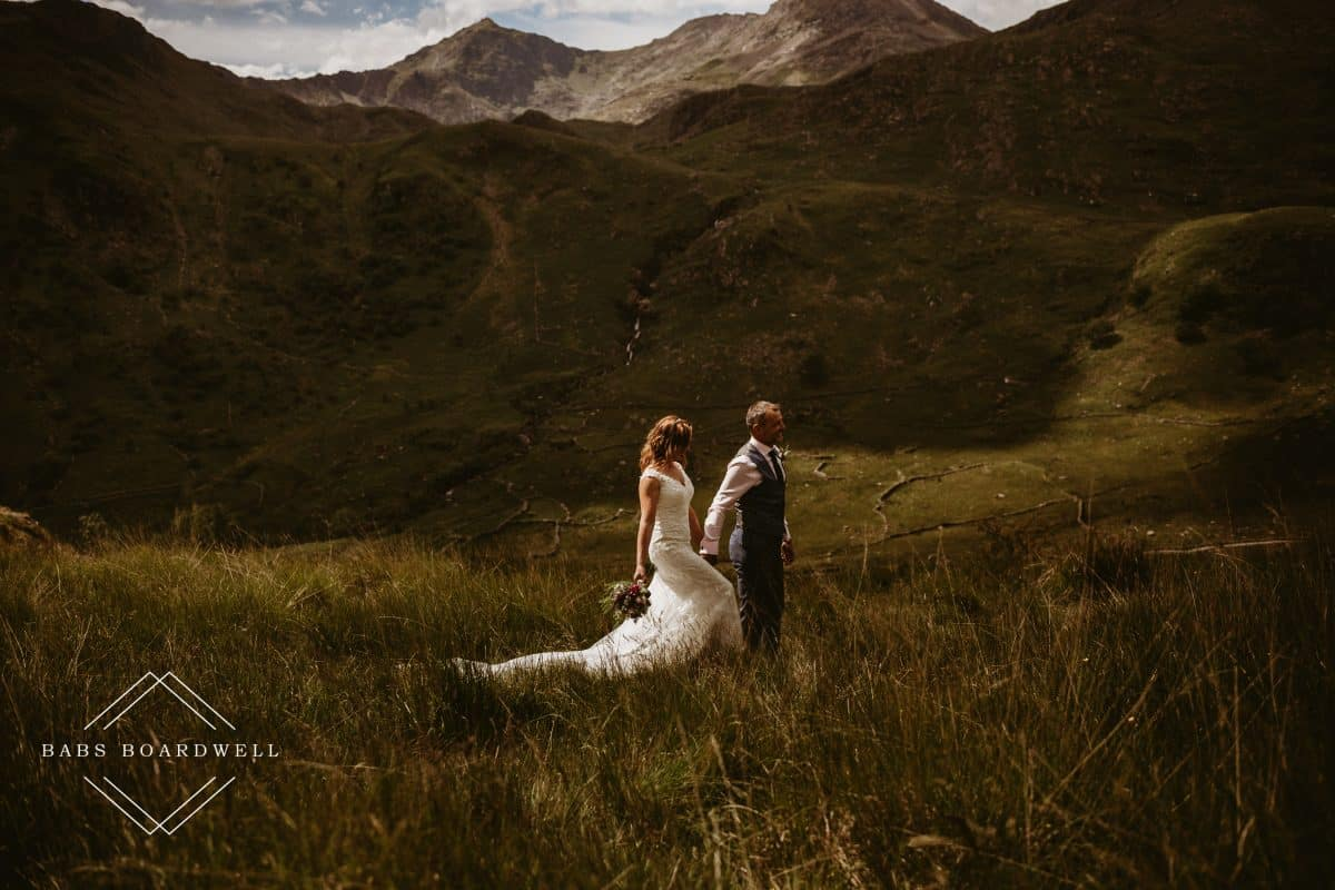 Steve & Claire's beautiful wedding day in Snowdonia