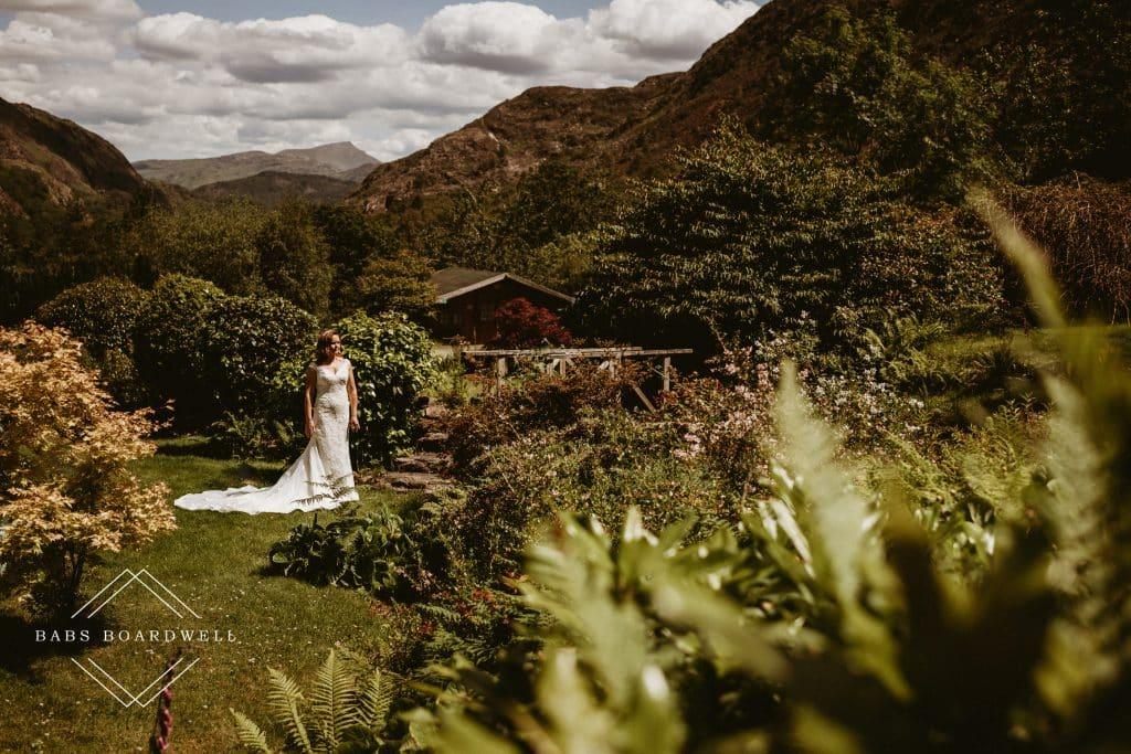 A beautiful wedding day in Snowdonia
