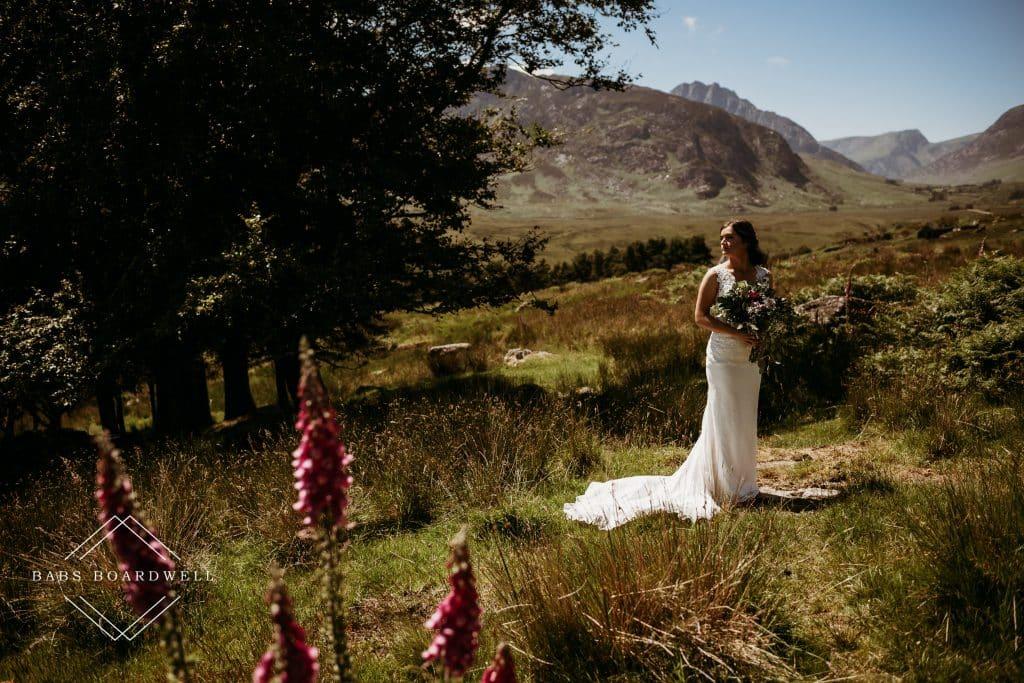 Max & Sam's Anglo-American Llyn Gwynant wedding