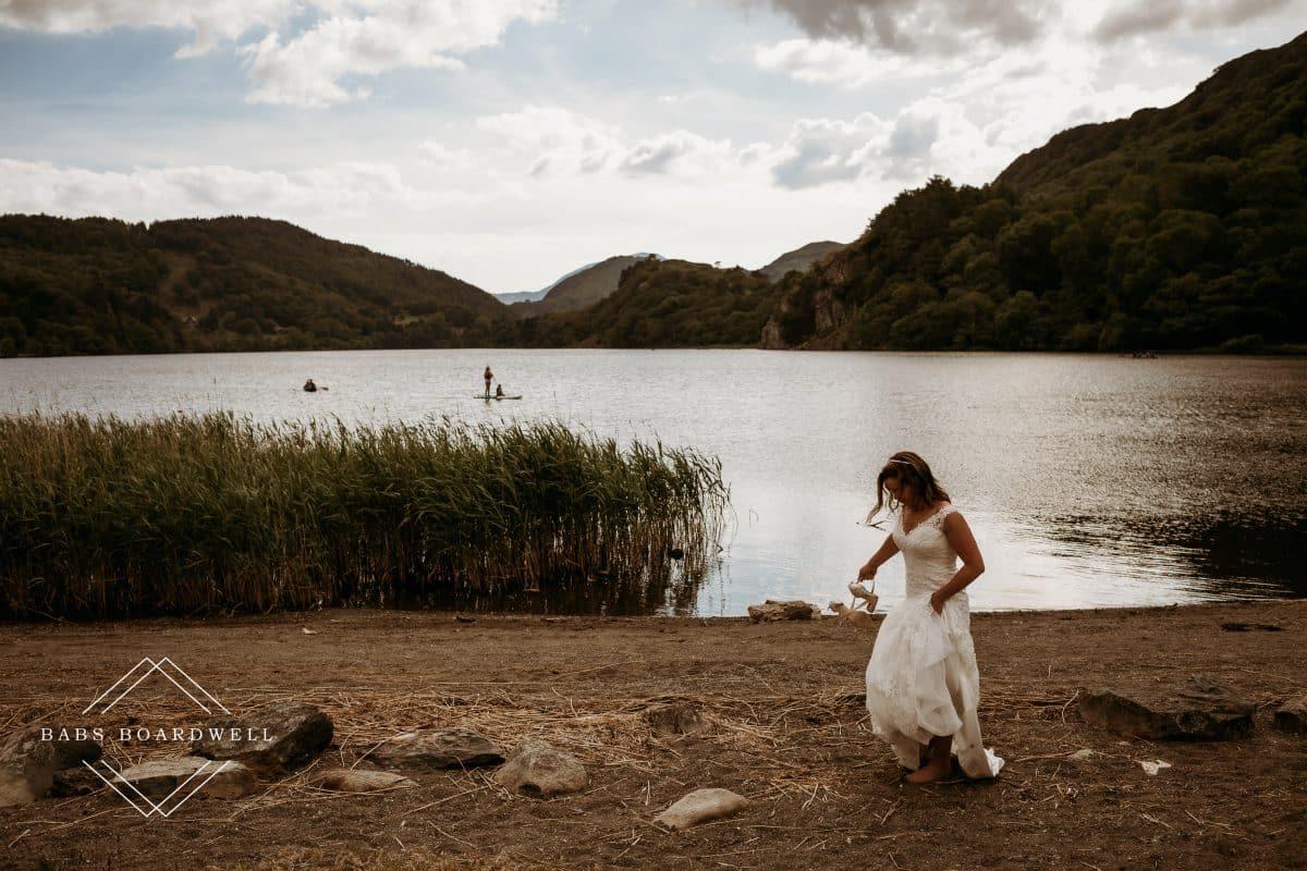 Steve & Claire's beautiful Llyn Gwynant wedding day
