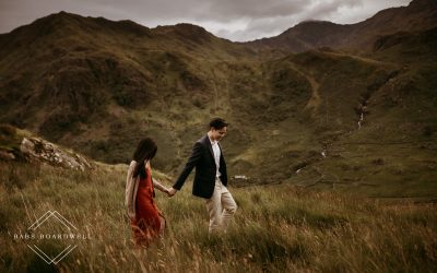 Singapore Couple's Wedding Anniversary Photoshoot at Base of Snowdon