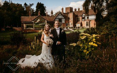 A romantic wedding at Tyn Dwr Hall