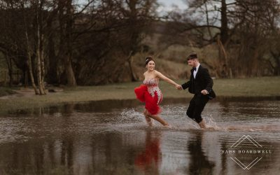 An intimate country club elopement in Ruthin