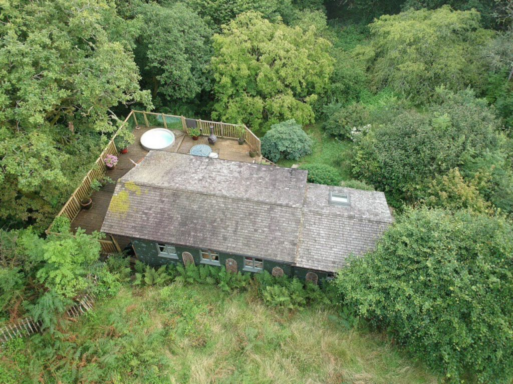 Air BnB UK Snowdonia Nature Cabin