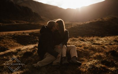 Ogwen Valley Couple Portrait Session