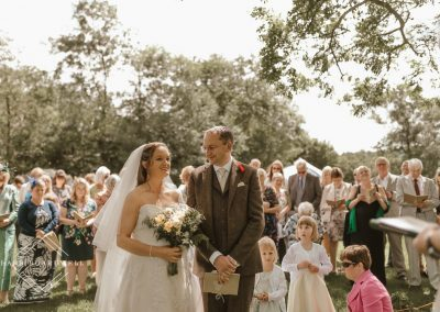 Outdoor wedding photography near Nant Gwynant
