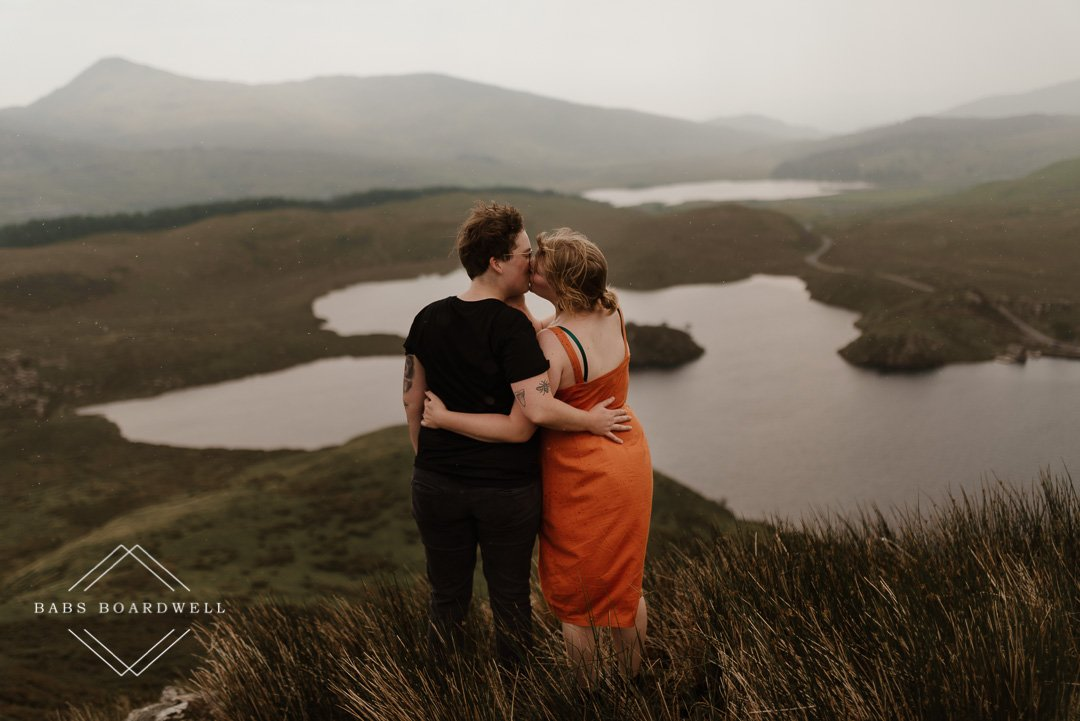 Post-wedding photography session in Snowdonia