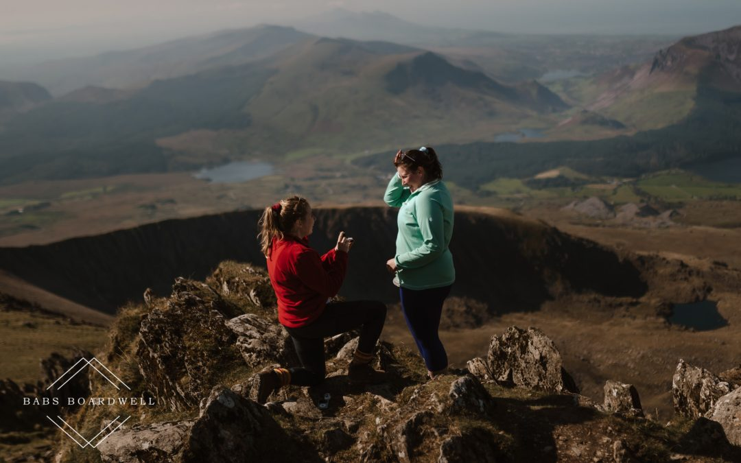 Proposal Photography in Snowdonia