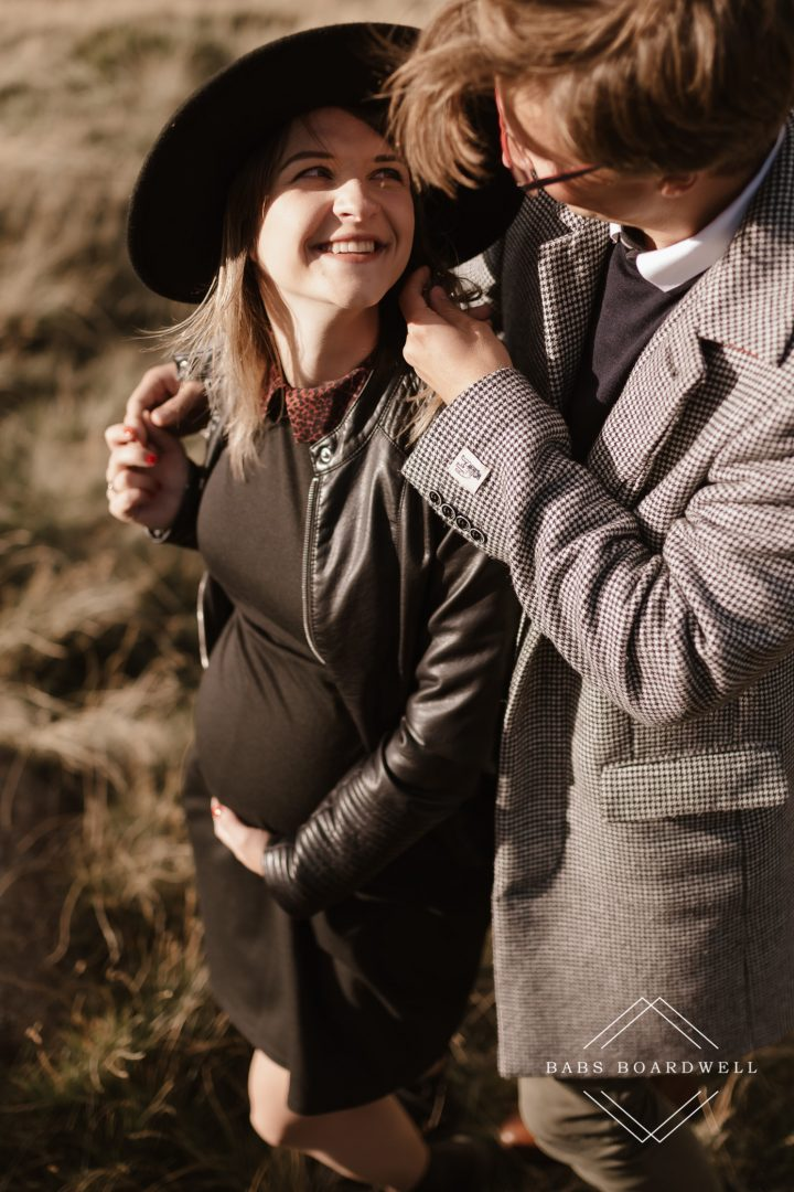 beautiful maternity photography in Snowdonia