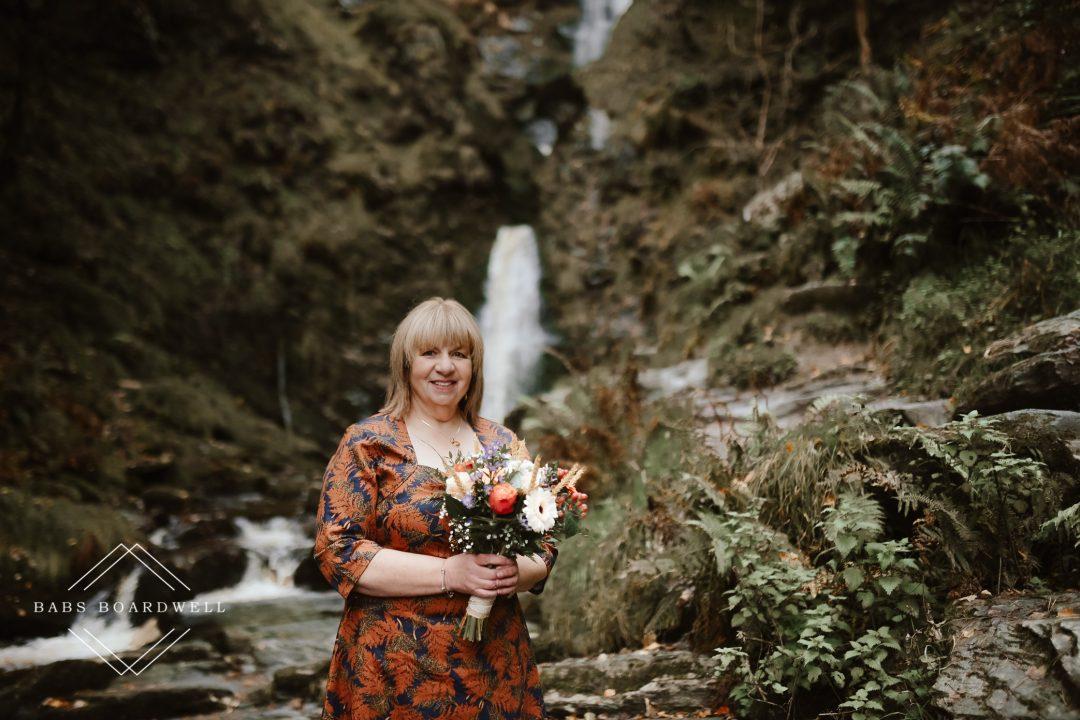 Pistyll Rhaeadr Wedding Photography