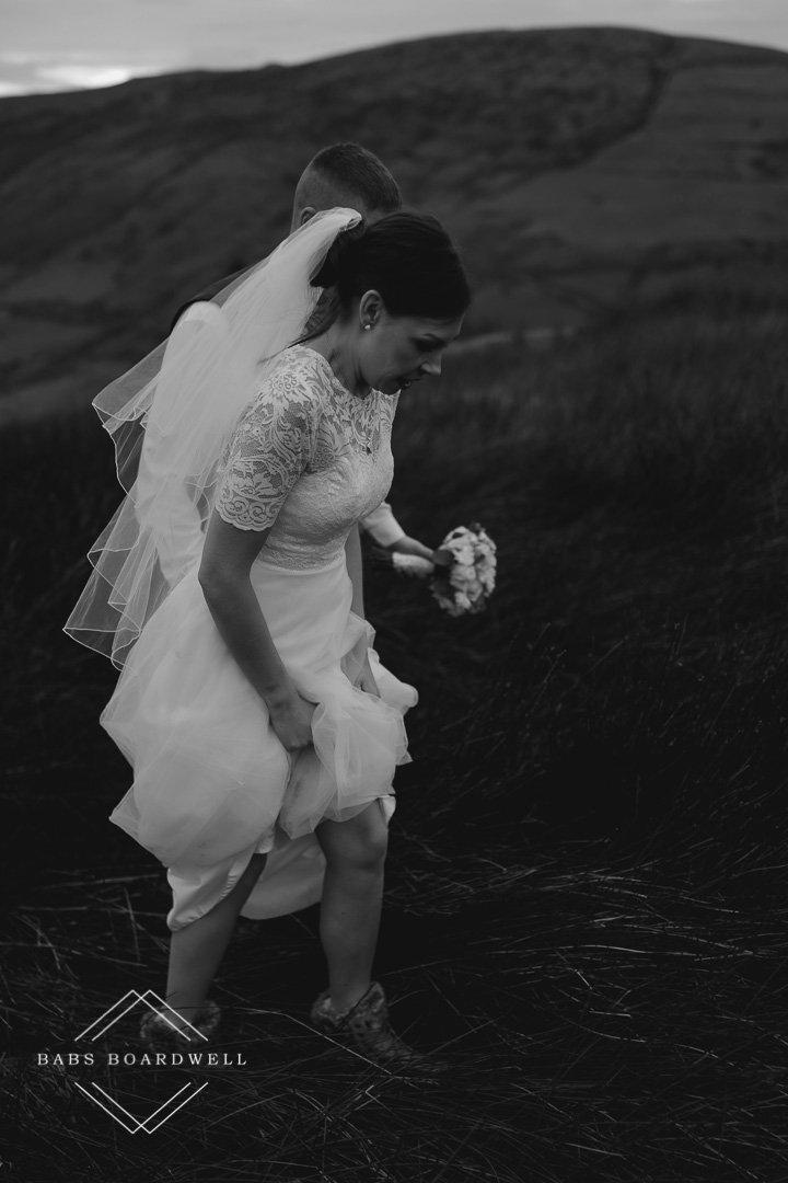 beautiful post wedding photography around Bala