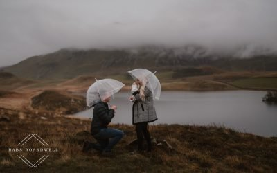 Surprise proposal in Dolgellau