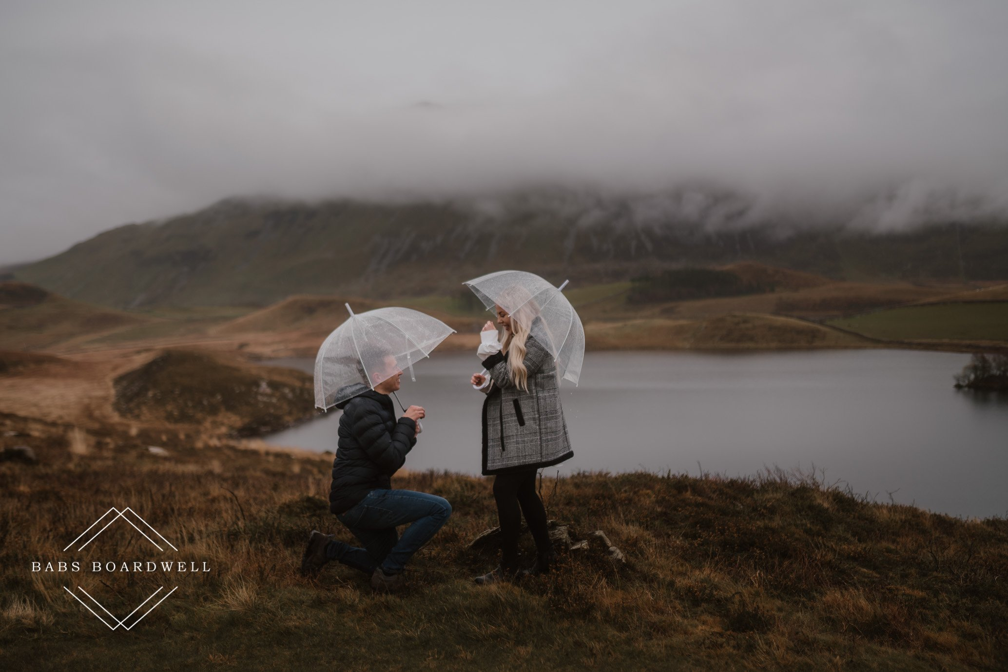Snowdonia Proposal Photography