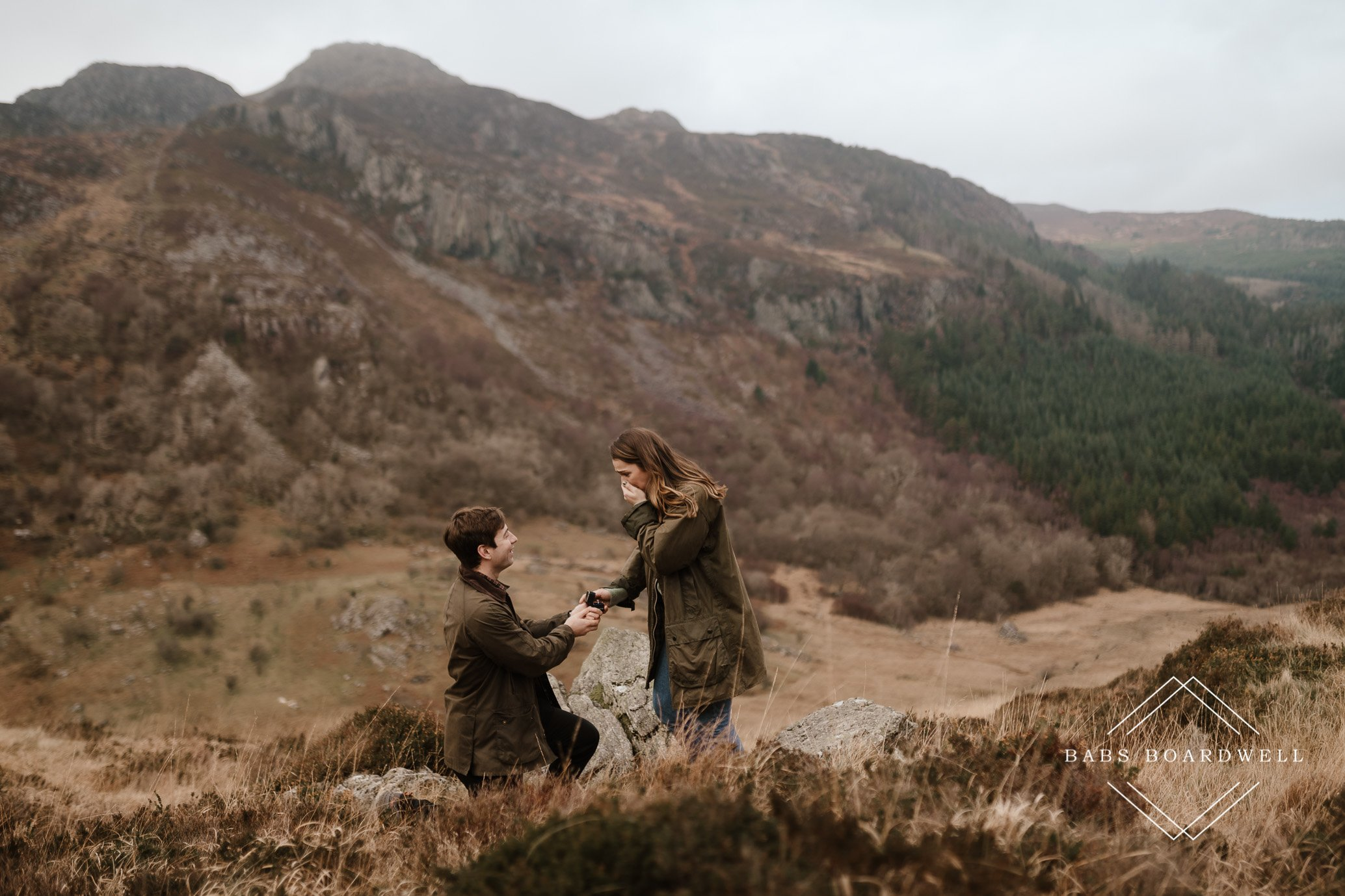 Proposal photographer in Snowdonia