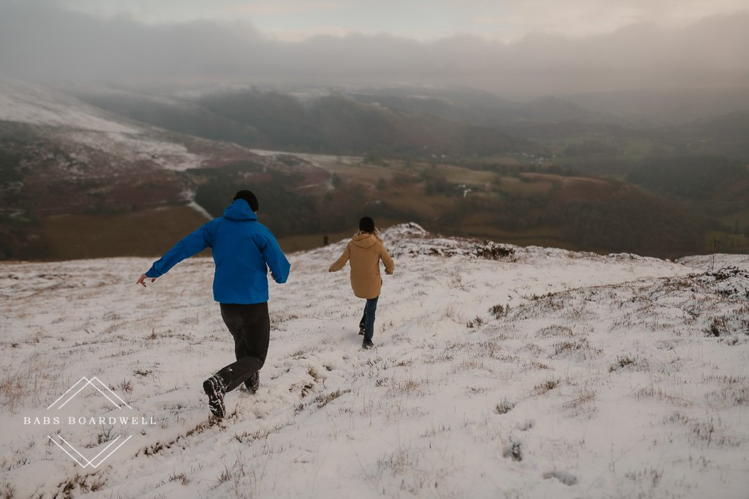 adventure session in Snowdonia