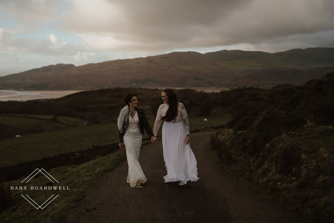 same-sex wedding photographer in Wales
