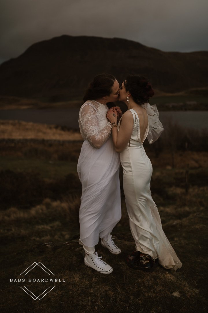 gay, lesbian and same-sex wedding & elopement photography in Wales
