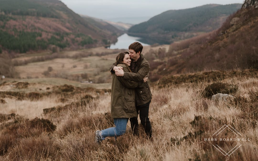 Engagement session close to the Mawddach Estuary