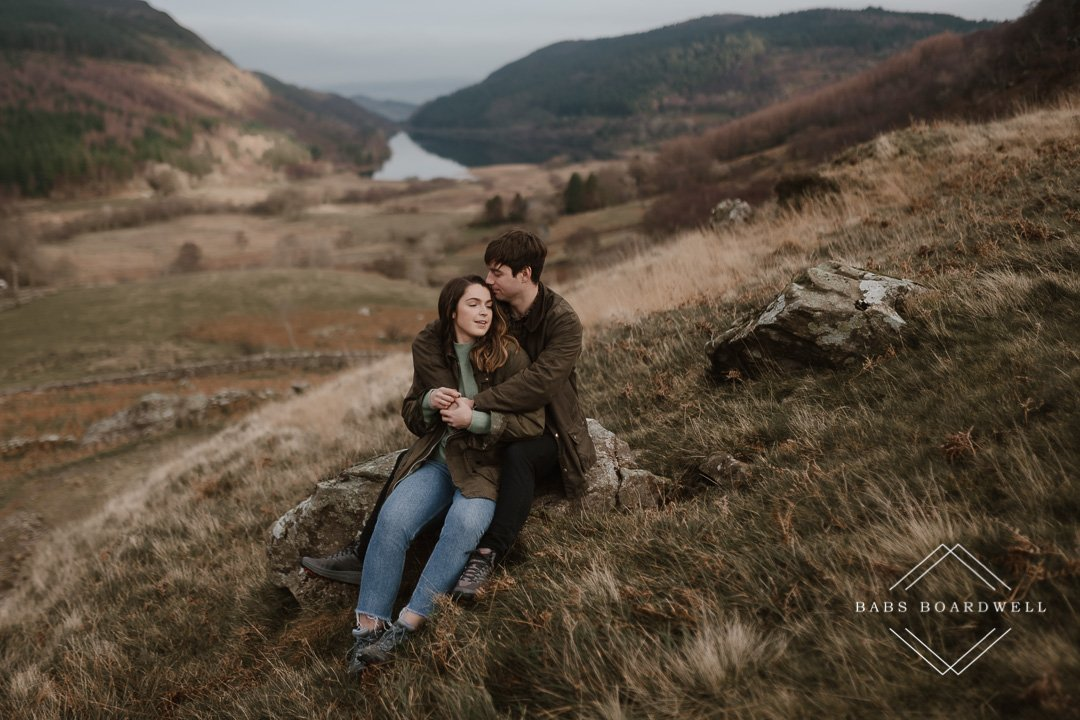 engagement photography in Wales