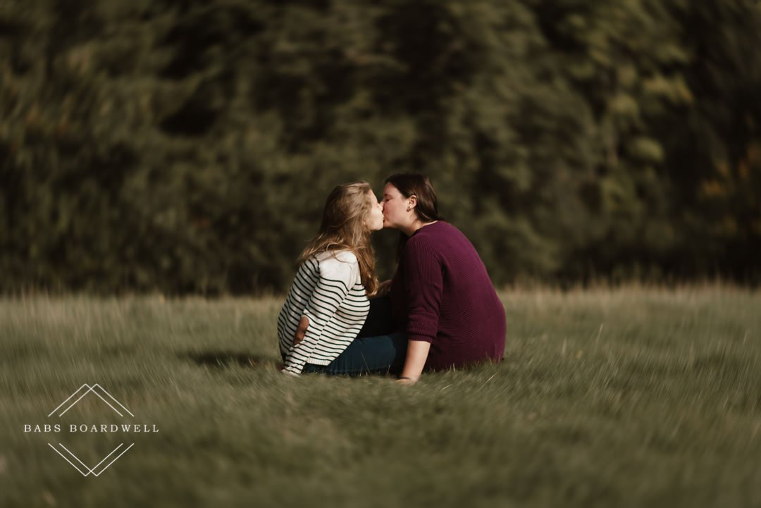 engagement photoshoot in Wales