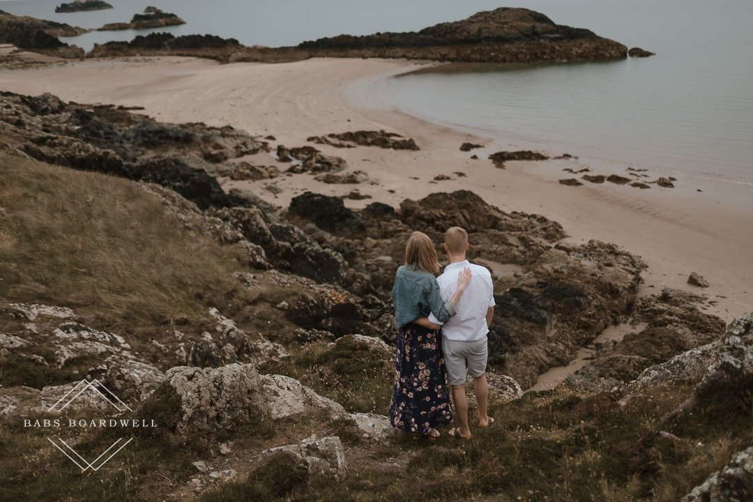 Newborough Beach pre-wedding adventure Anglesey Wedding Photography