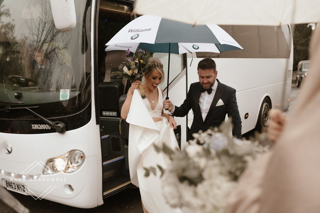 beautiful wedding at The Gwenfrewi Project
