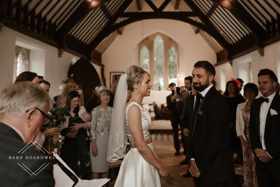 beautiuful wedding at The Gwenfrewi Project in Gwytherin