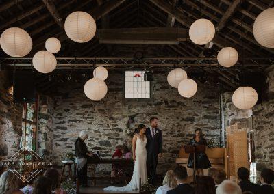 North Wales Wedding Photographer at Llyn Gwynant Barns