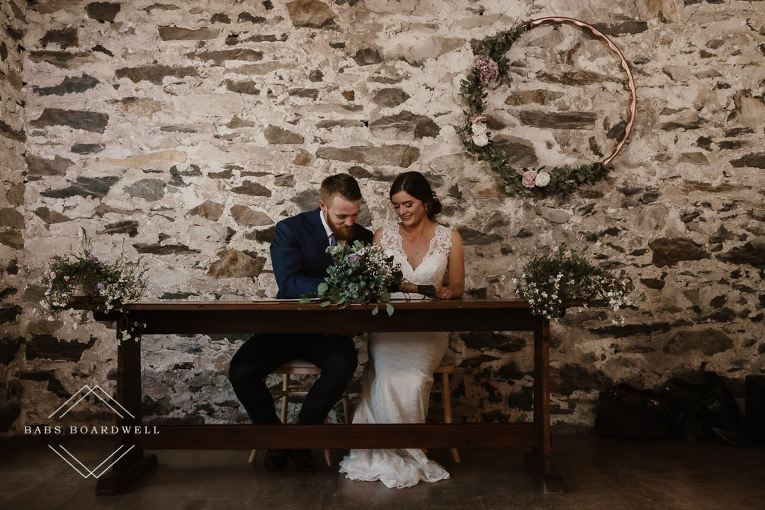 Wedding Photography at Llyn Gwynant Barns