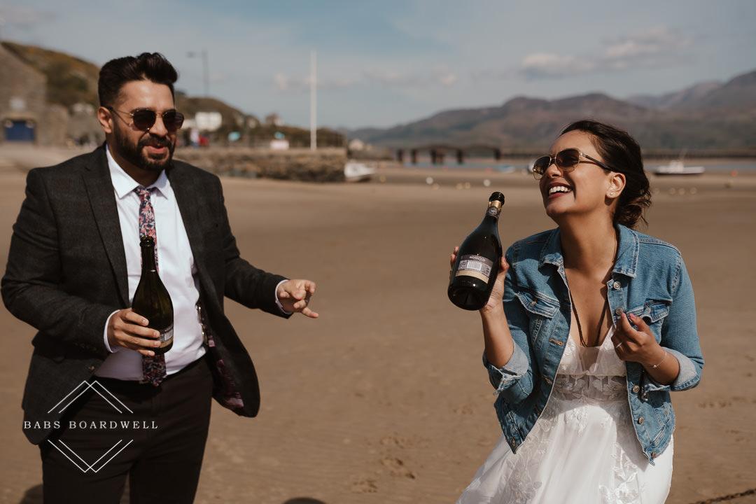 Fun-filled Barmouth Elopement Wedding