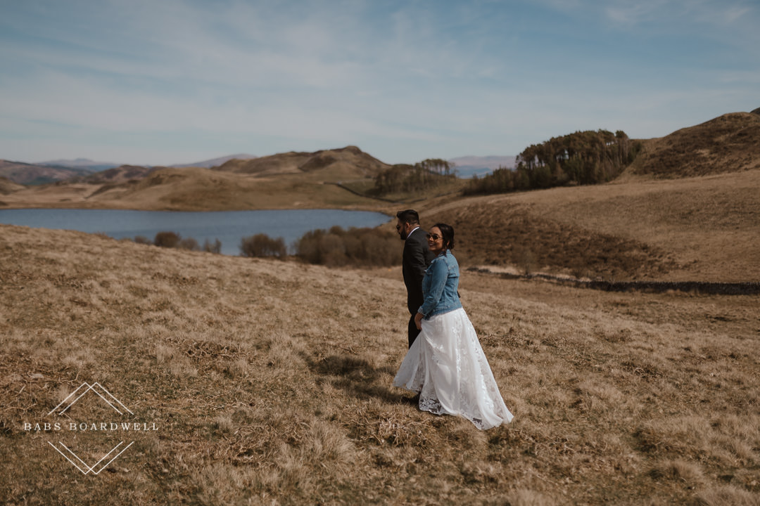 fun-filled Barmouth Elopement