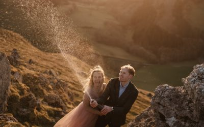 5 top tips for renewing your vows at sunset in Wales