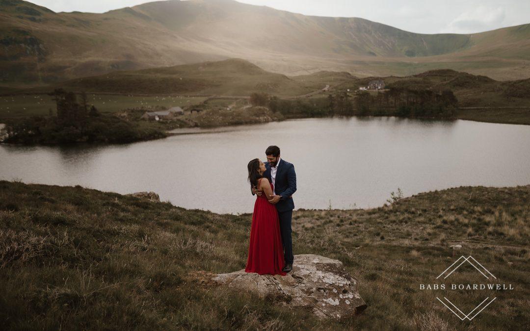 Wedding Anniversary Photo Shoot, Snowdonia