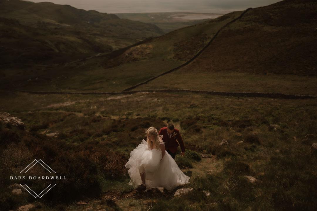 Welsh Mountain Elopement | UK Elopement Photographer
