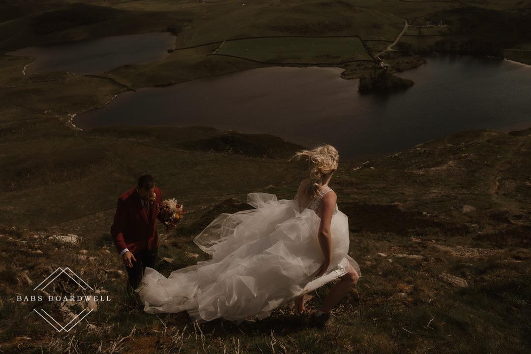 Welsh Mountain Elopement | Wedding Photographer North Wales
