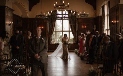 Chateau Rhianfa Wedding with a Willowby Foxglove Dress