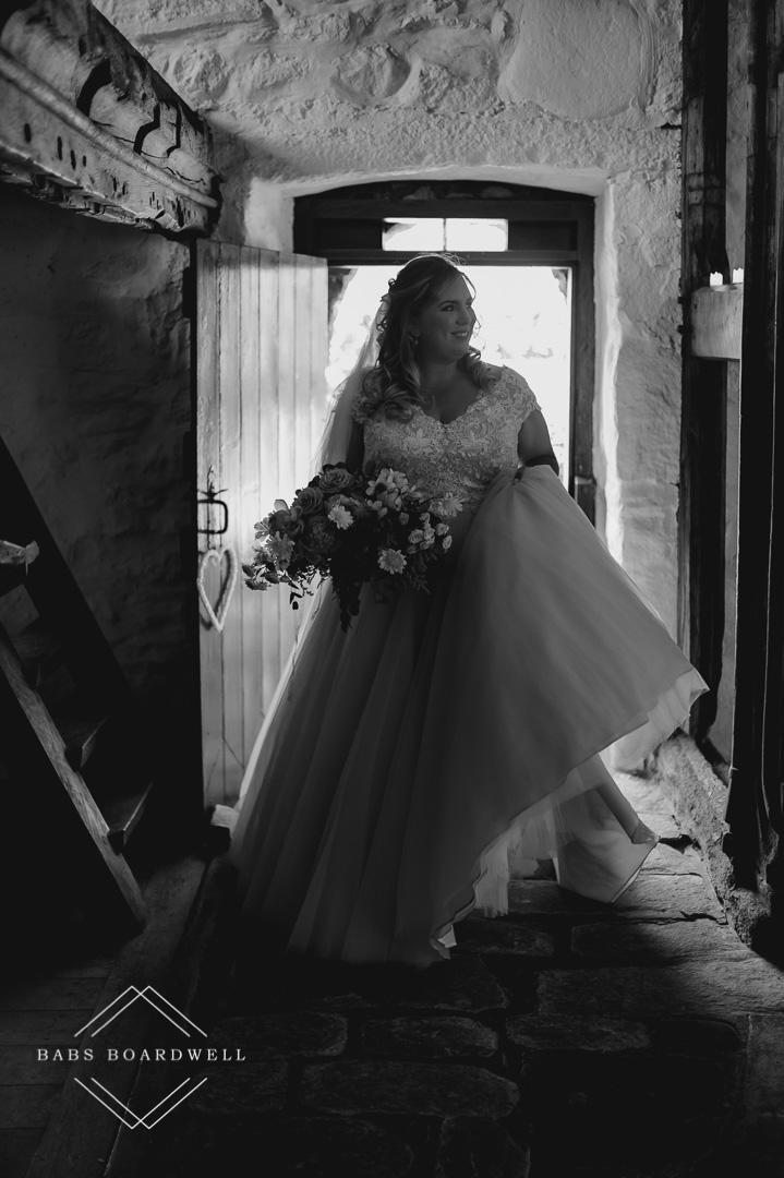 Penarth Fawr Elopement Wedding by Wales Wedding & Elopement Photographer