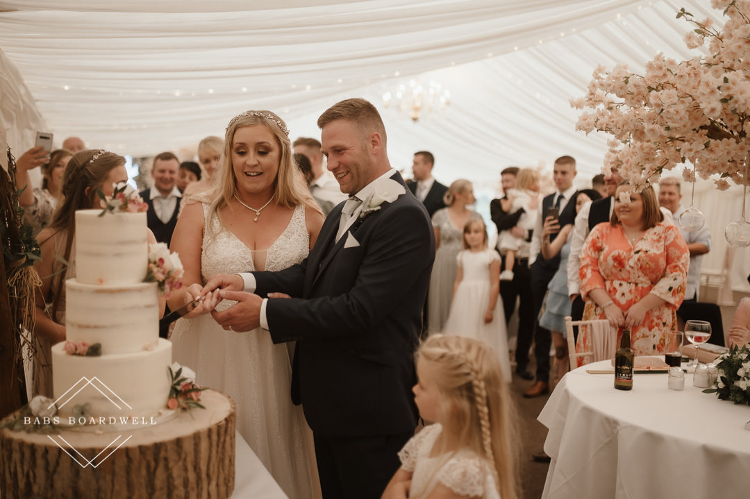 Relaxed wedding photography at Plas Isaf farm country barn